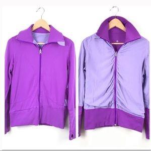 Lululemon Purple Reversible Jacket